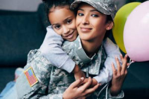 CHILD CUSTODY AND PROPERTY DIVISION IN MILITARY DIVORCES